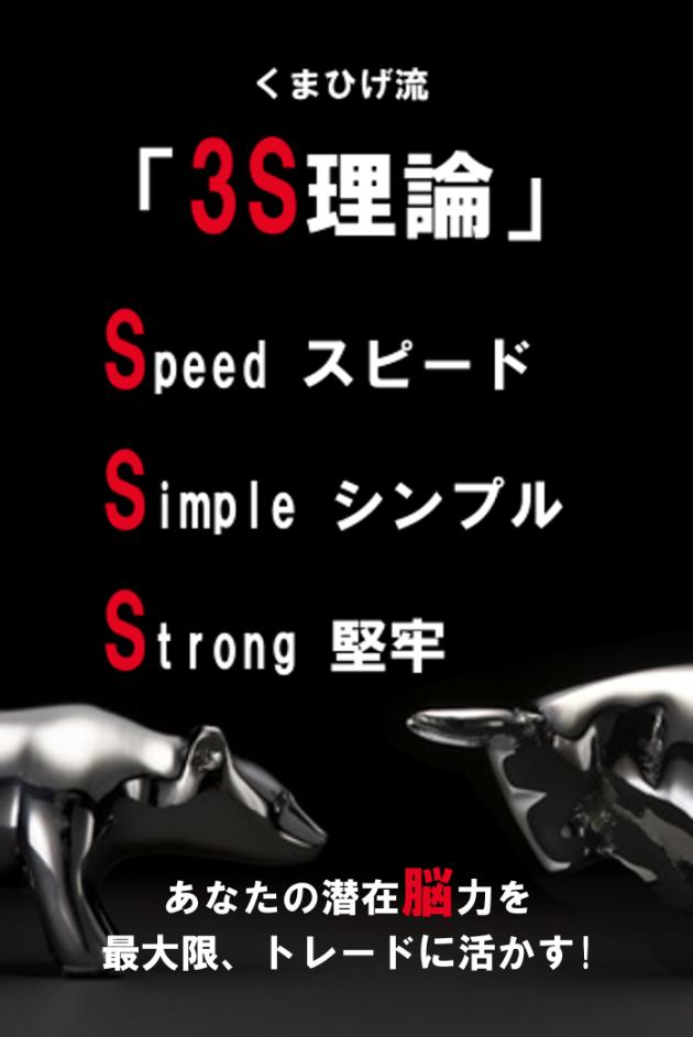 くまひげ先生の3S理論
