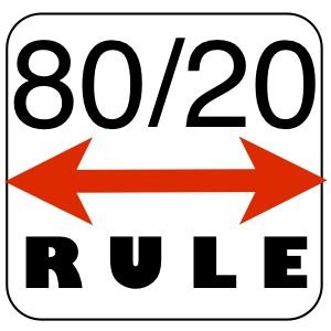 プライスアクションJAPAN_チャート80:20の法則