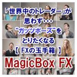 【人気NO2】◆FXの玉手箱/ マジックボックスFX◆「くまひげ先生」の新世代プライスアクション売買シグナル