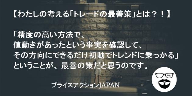プライスアクションJAPAN_くまひげ先生_トレード戦略